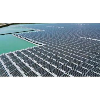 Paneles Solares Flotantes Agua Con Mucho Potencial